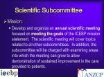 scientific subcommittee2