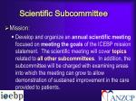 scientific subcommittee3