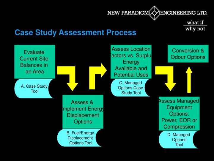 Case Study Assessment Process