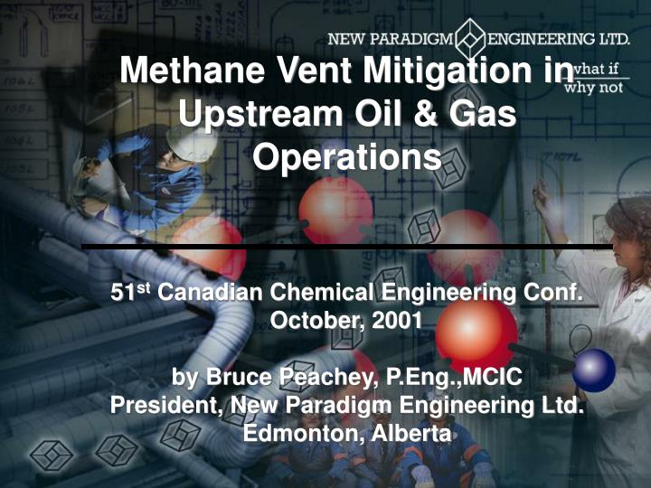 Methane Vent Mitigation in Upstream Oil & Gas Operations