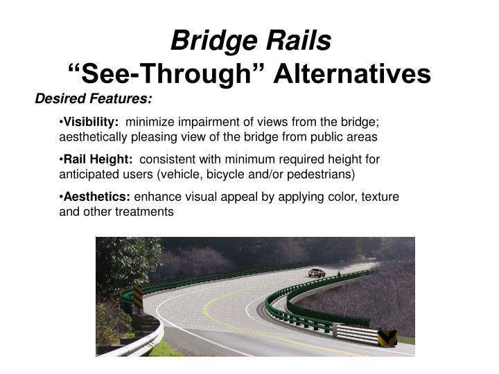 Bridge Rails