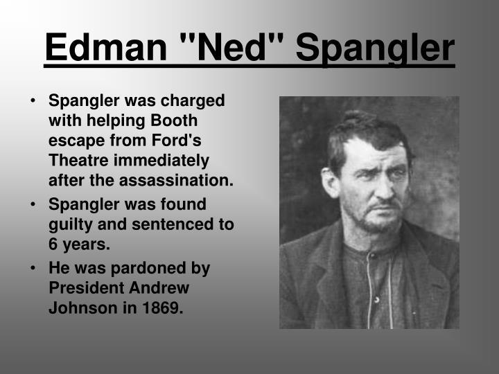 """Edman """"Ned"""" Spangler"""