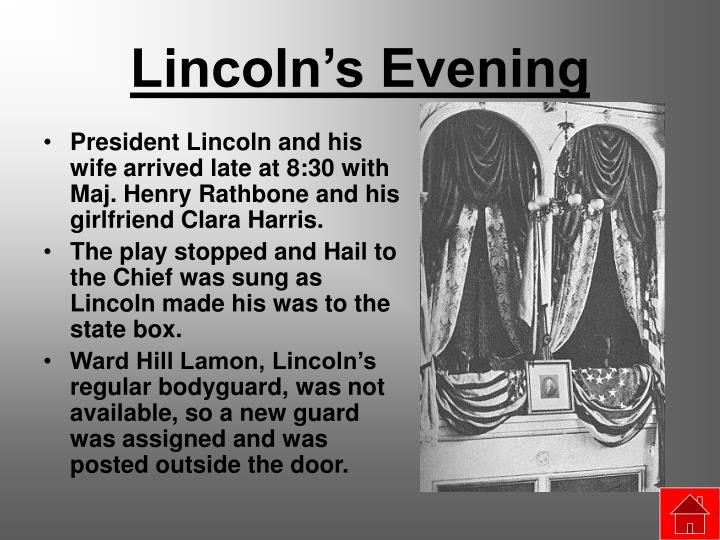 Lincoln's Evening