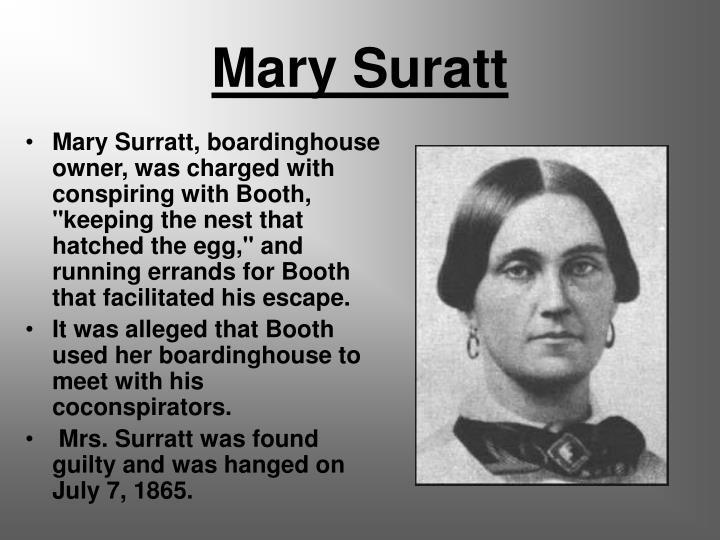 Mary Suratt