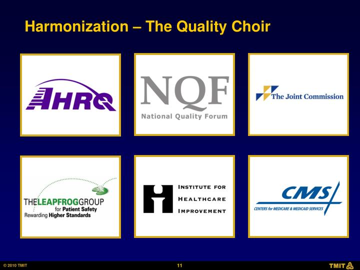 Harmonization – The Quality Choir