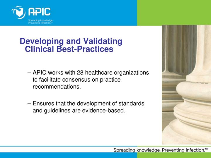 Developing and Validating Clinical Best-Practices