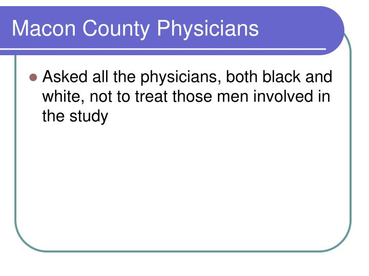 Macon County Physicians