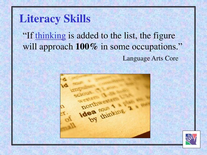 Literacy Skills
