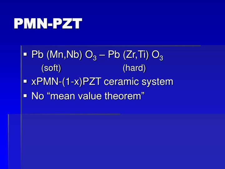 PMN-PZT