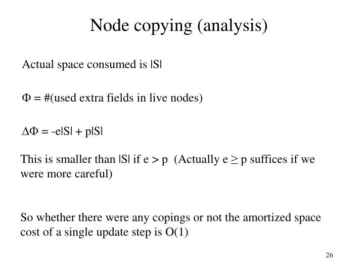 Node copying (analysis)