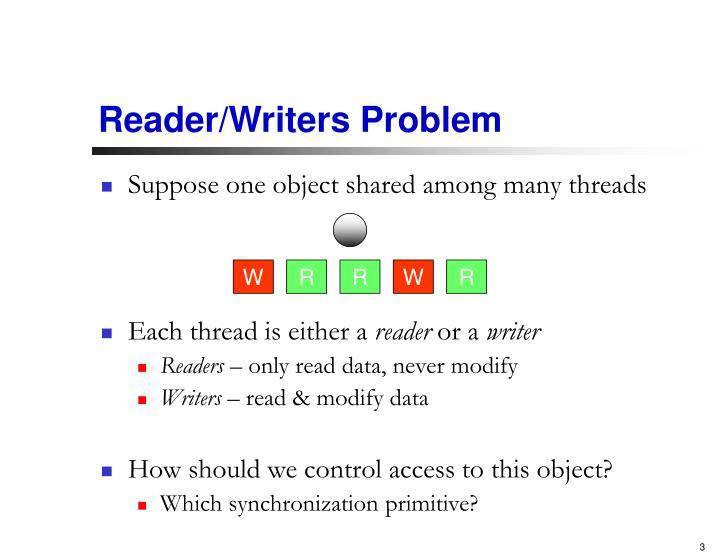 Reader/Writers Problem