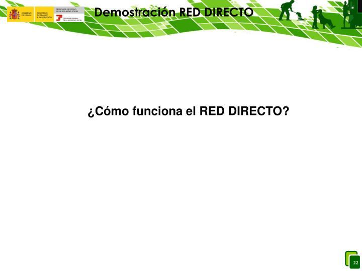 Demostración RED DIRECTO