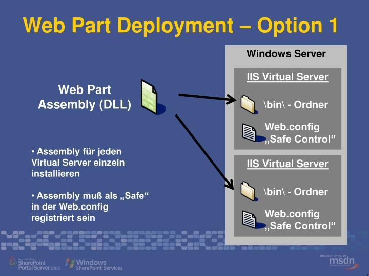 IIS Virtual Server