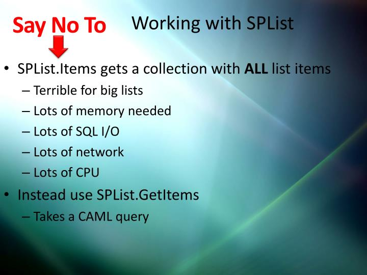 SPList.Items