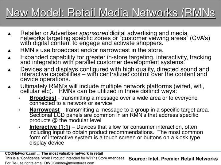 New Model: Retail Media Networks (RMNs