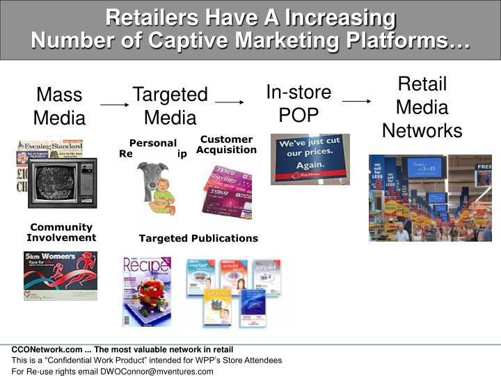 Retailers Have A Increasing