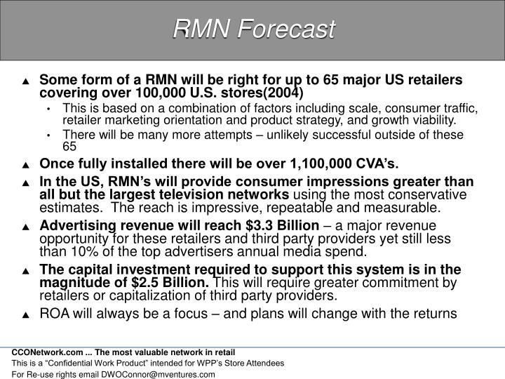 RMN Forecast