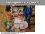 shopping basket of the future