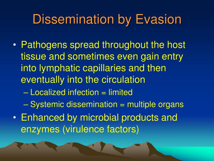 Dissemination by Evasion