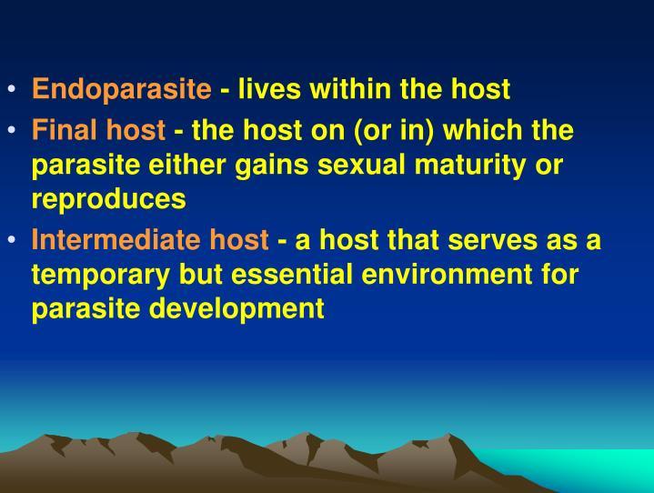 Endoparasite