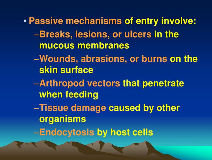 Passive mechanisms