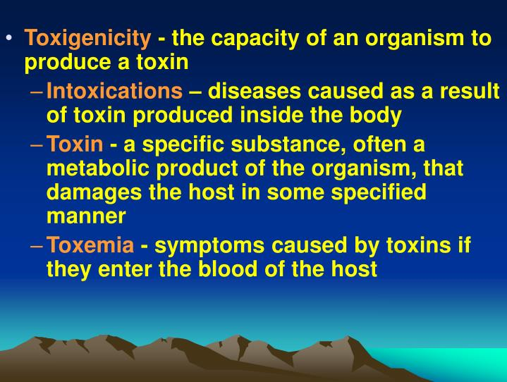 Toxigenicity
