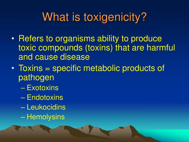 What is toxigenicity?