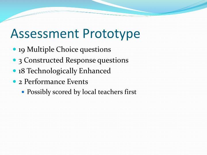 Assessment Prototype
