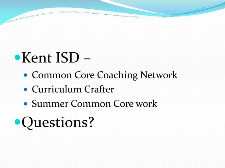 Kent ISD –
