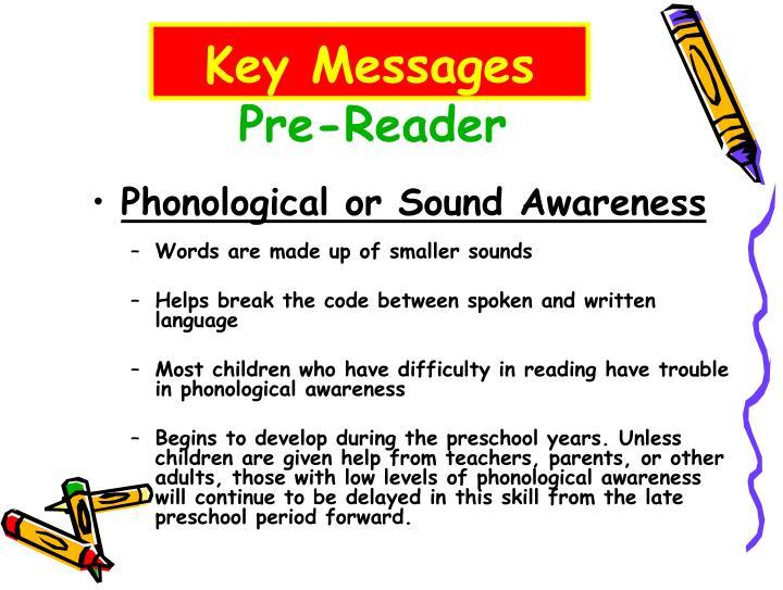 Pre-Reader