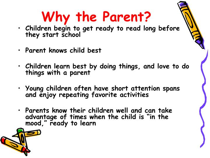 Why the Parent?