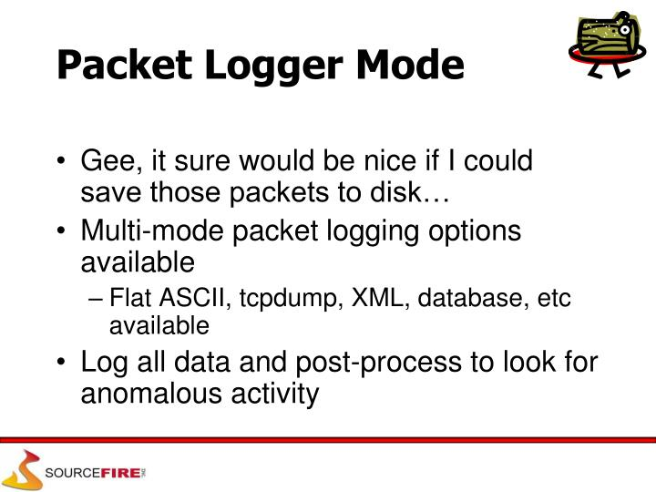 Packet Logger Mode