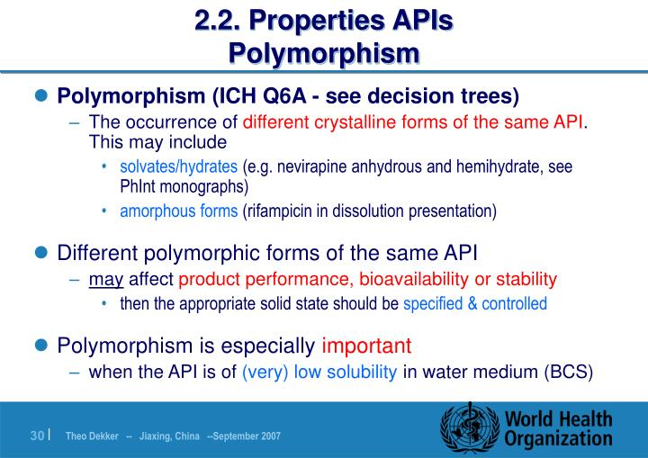 2.2. Properties APIs