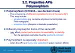 2 2 properties apis polymorphism