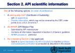 section 2 api scientific information