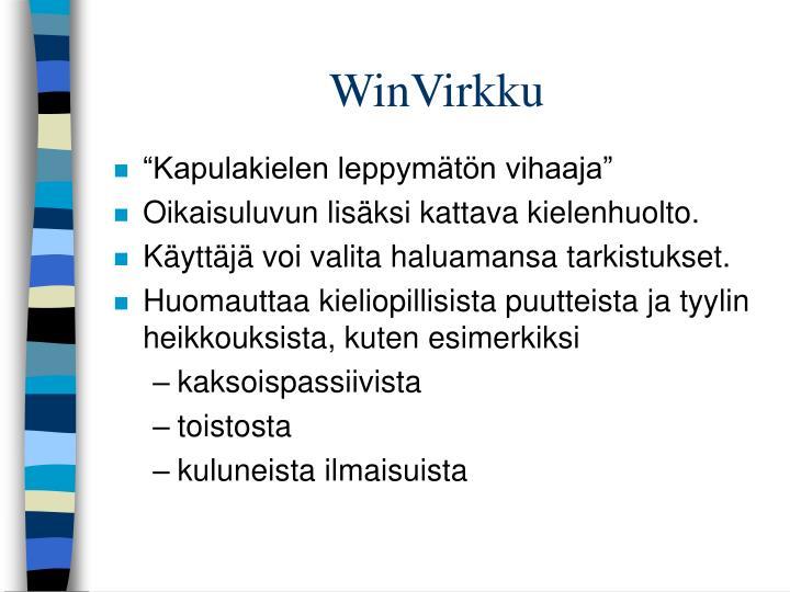WinVirkku