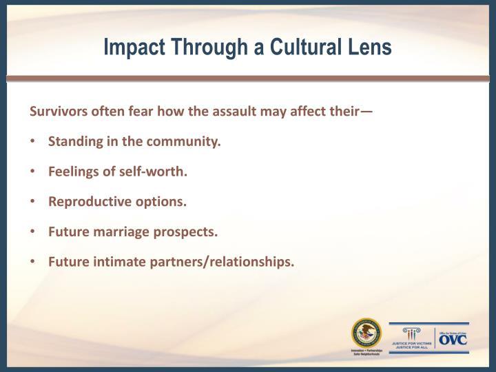 Impact Through a Cultural Lens