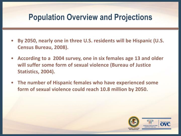 Population Overview and Projections