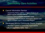 community core activities2