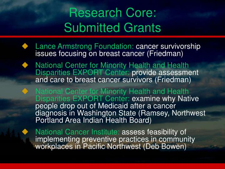 Research Core: