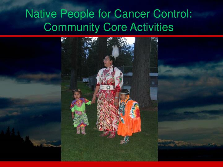 Native People for Cancer Control:
