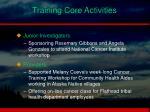 training core activities2