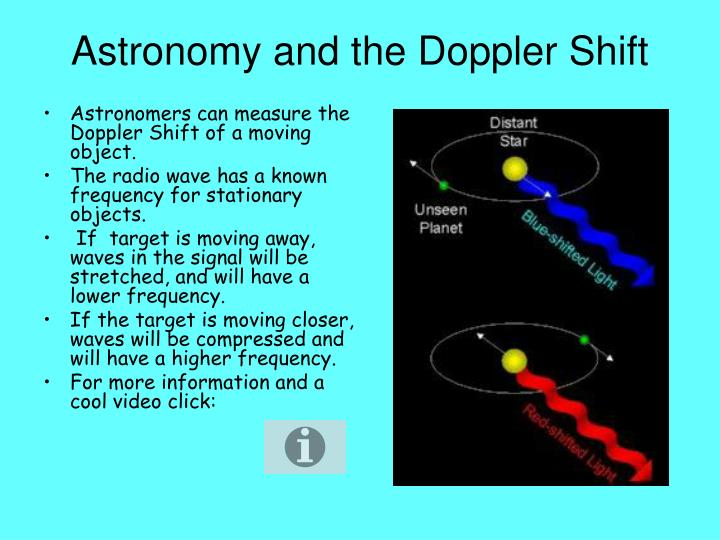 Astronomy and the Doppler Shift