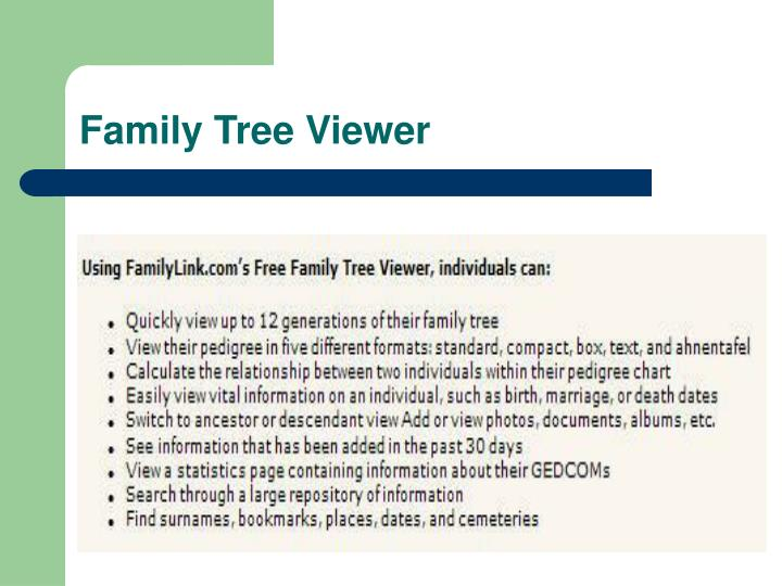 Family Tree Viewer