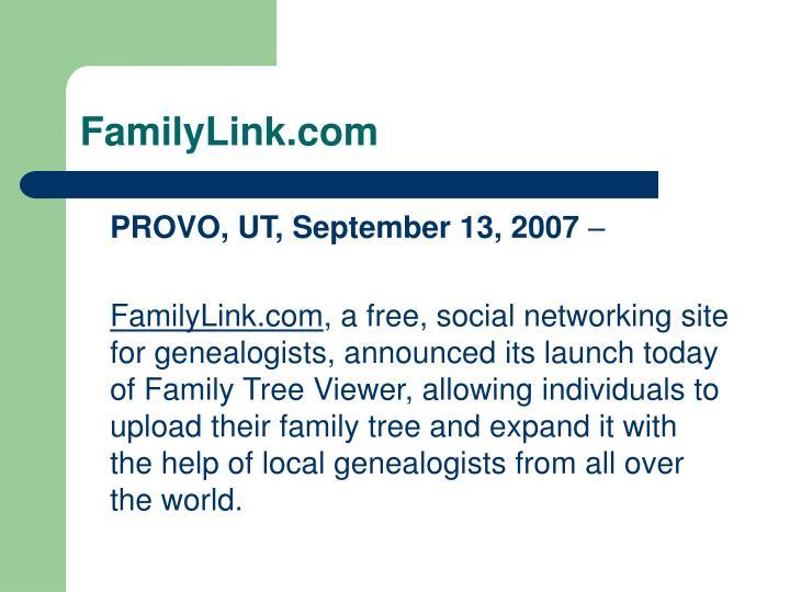 FamilyLink.com