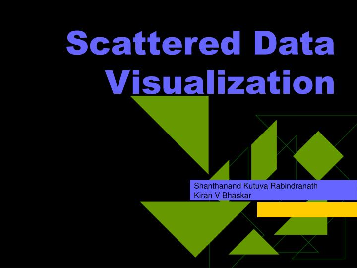 Scattered Data Visualization