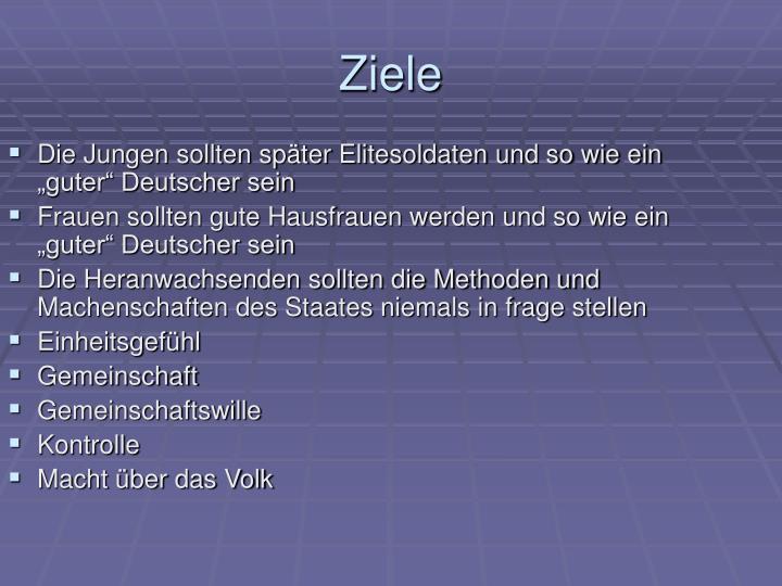 """Die Jungen sollten später Elitesoldaten und so wie ein """"guter"""" Deutscher sein"""