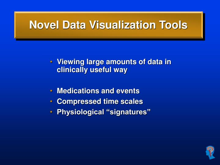 Novel Data Visualization Tools