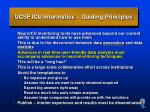 ucsf icu informatics guiding principles