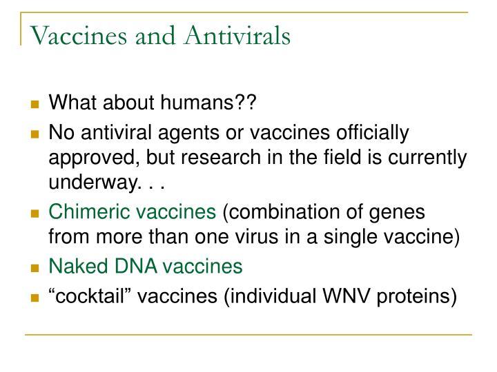 Vaccines and Antivirals